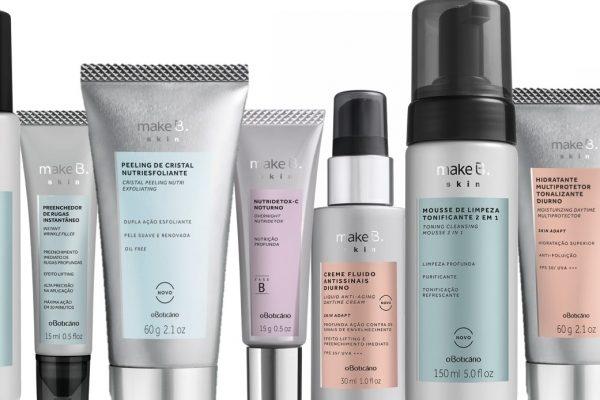 Make B. Skin é a nova linha de cuidados faciais do Boticário