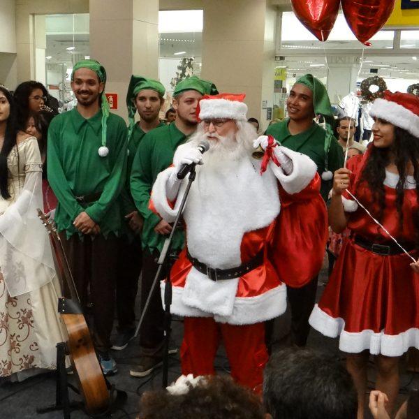 Papai Noel chega ao Shopping Campo Grande no próximo sábado
