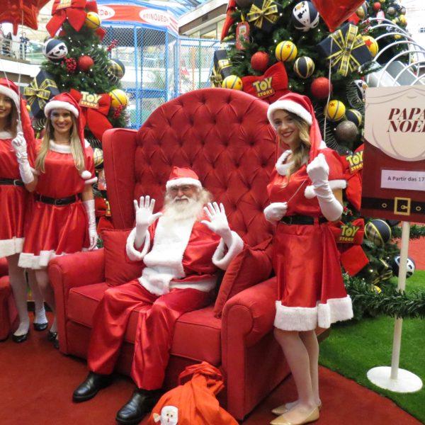Aberta a temporada de Natal no Shopping Campo Grande