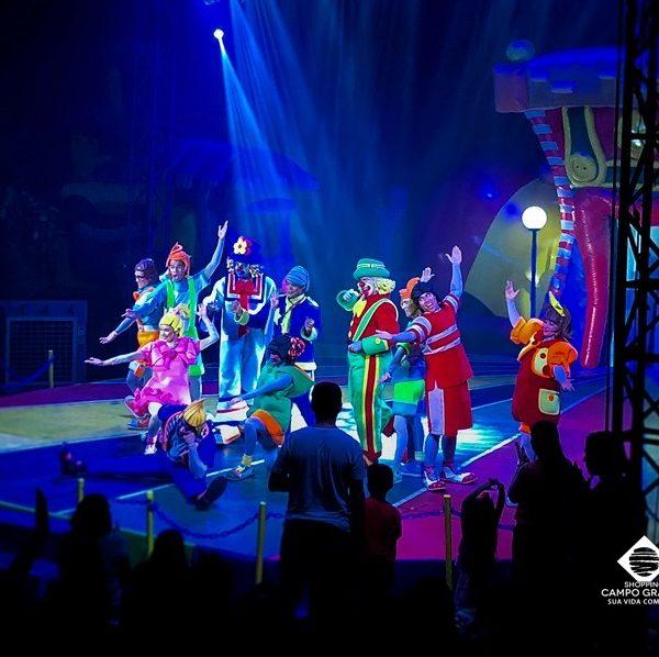 Últimos dias do Parque Patati Patatá Circo Show em Campo Grande