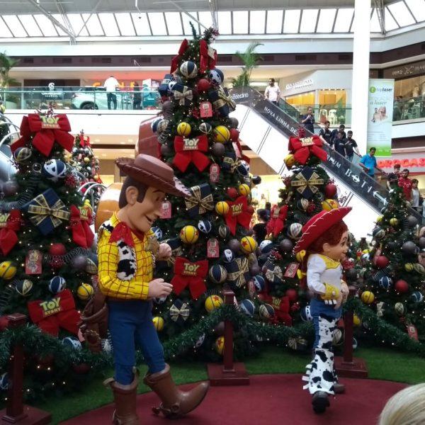 Shopping terá personagens do Toy Story nos dias 11 e 12