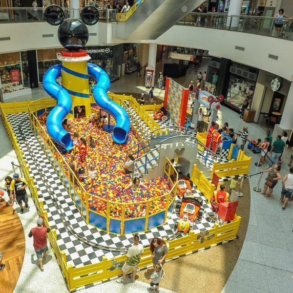 """Shopping Campo Grande recebe a atração inédita inspirada em """"Mickey Aventuras sobre Rodas"""" do Disney Junior"""