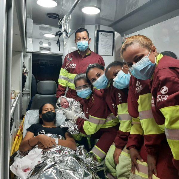 Bebê nasce dentro de ambulância da CCR MSVia, às margens da BR-163/MS